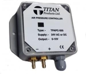 0-10V Air Pressure Control from Titan.