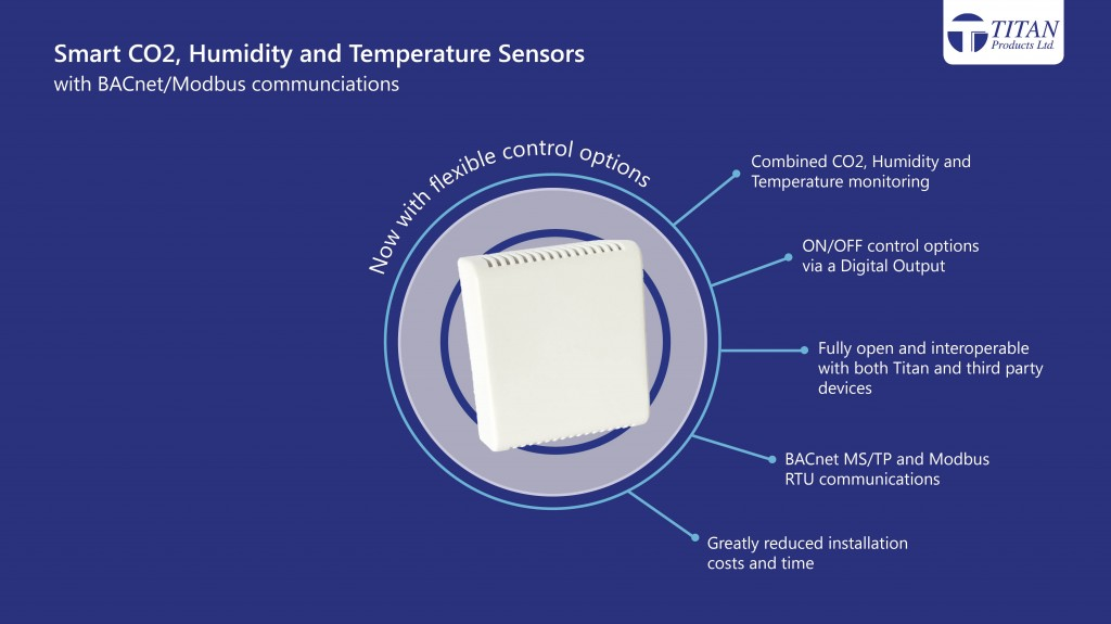 Smart sensors with control options