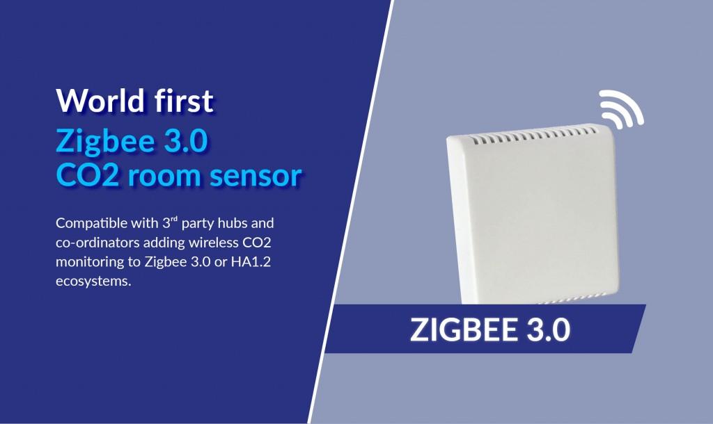 Zigbee 3 CO2 room sensor